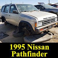 Junkyard 1995 Nissan Pathfinder