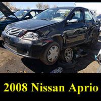 Junkyard 2008 Nissan Aprio