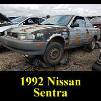 Junkyard 1992 Nissan Sentra
