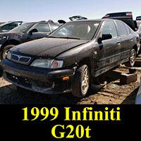 Junkyard 1999 Infiniti G20t
