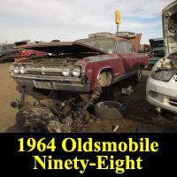 Junkyard 1964 Oldsmobile 98 Luxury Sedan