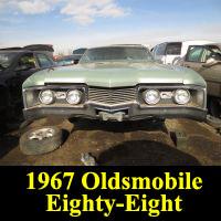 Junkyard 1967 Oldsmobile Delta 88