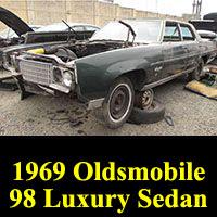 Junkyard 1969 Oldsmobile Ninety-Eight Luxury Sedan