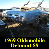 Junkyard 1968 Oldsmobile Delmont 88 Convertible