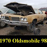 Junkyard 1970 Oldsmobile 98