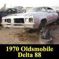 Junkyard 1970 Oldsmobile Delta 88