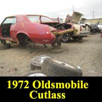 Junkyard 1972 Oldsmobile Cutlass