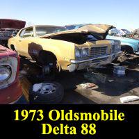 Junkyard 1973 Oldsmobile Delta 88 Custom