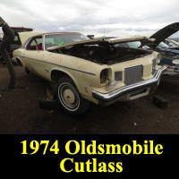 Junkyard 1974 Oldsmobile Cutlass