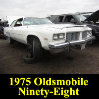 Junkyard 1975 Oldsmobile 98 Regency Luxury Coupe