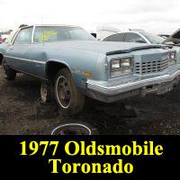 Junkyard 1977 Oldsmobile Toronado Brougham