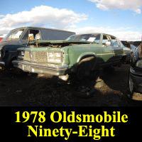 Junkyard 1978 Oldsmobile Ninety-Eight
