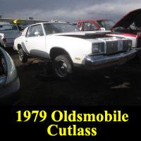 Junkyard 1979 Oldsmobile Cutlass Supreme Brougham