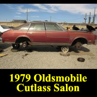 Junkyard 1979 Oldsmobile Cutlass Salon Brougham Sedan