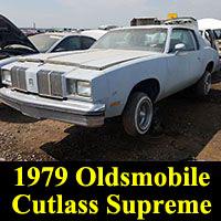 Junkyard 1979 Oldsmobile Cutlass Supreme