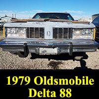 Junkyard 1979 Oldsmobile Delta 88