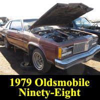 Junkyard 1979 Oldsmobile 98 Regency Coupe