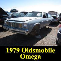 Junkyard 1979 Oldsmobile Omega