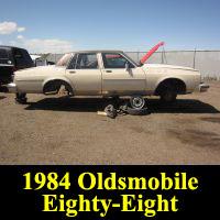Junkyard 1984 Oldsmobile Delta 88 Royale Brougham