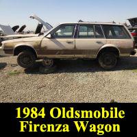 Junkyard 1984 Oldsmobile Firenza wagon