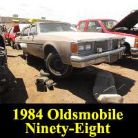 Junkyard 1984 Oldsmobile 98 Regency
