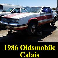 Junkyard 1986 Oldsmobile Calais