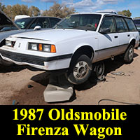 Junkyard 1987 Oldsmobile Firenza wagon