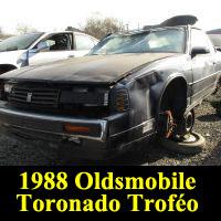 Junkyard 1988 Oldsmobile Toronado Trofeo