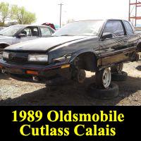 Junkyard 1989 Oldsmobile Cutlass Calais