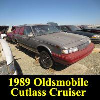 Junkyard 1989 Oldsmobile Cutlass Cruiser