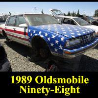 Junkyard 1989 Oldsmobile 98 Regency