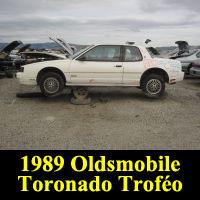 Junkyard 1989 Oldsmobile Toronado Trofeo