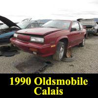 Junkyard 1990 Oldsmobile Cutlass Calais