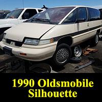 Junkyard 1990 Oldsmobile Silhouette