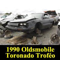 Junkyard 1990 Oldsmobile Toronado Trofeo
