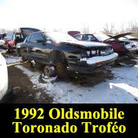 Junkyard 1992 Oldsmobile Toronado Trof�o