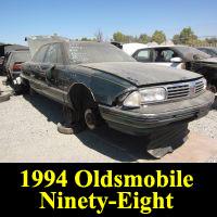 Junkyard 1994 Oldsmobile 98 Regency Elite