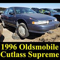 Junkyard 1996 Olds Cutlass Supreme