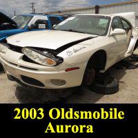 Junkyard 2003 Oldsmobile Aurora