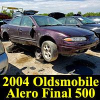 Junkyard 2004 Oldsmobile Alero Final 500 Edition