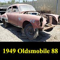 Junkyard 1949 Oldsmobile 88