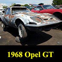 Junkyard 1968 Opel GT