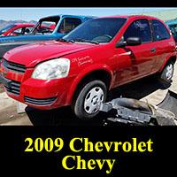 Junkyard 2009 Chevrolet Chevy