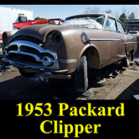 Junkyard 1953 Packard Clipper