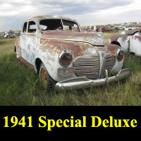 Junkyard 1941 Plymouth Special Deluxe