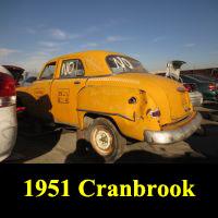 Junkyard 1951 Plymouth Cranbrook
