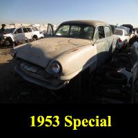 Junkyard 1953 Plymouth Special