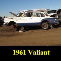 Junkyard 1961 Plymouth Valiant