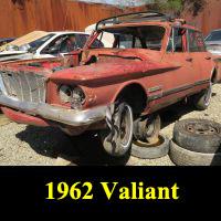 Junkyard 1962 Plymouth Valiant