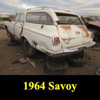 Junkyard 1964 Plymouth Savoy Wagon